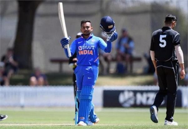 india a beat new zealand a by 5 wickets