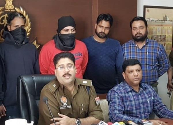 gangster ravi balachoria gang 2 members arrested