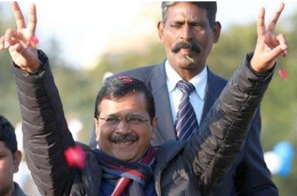 kejriwal becomes delhi chief minister for the third time