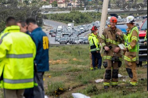 3 killed 18 injured after bus rolls over in california