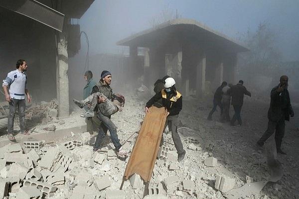 syria  20 civilians killed
