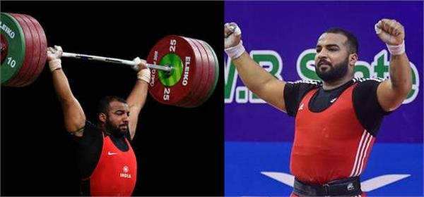 pradeep wins gold medal with personal best performance in snatch