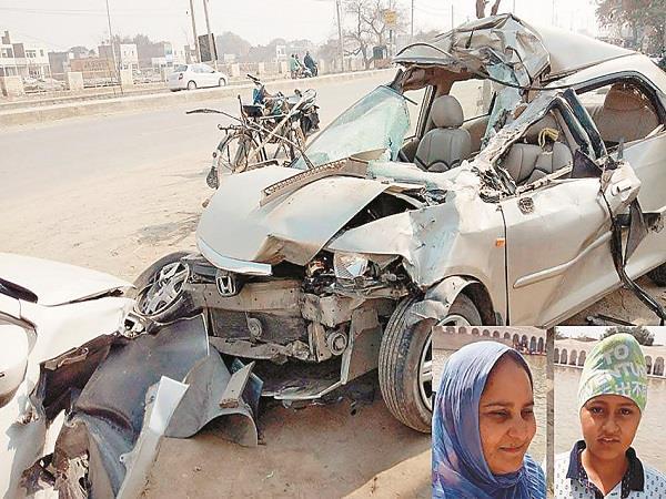 abohar  car accident  death