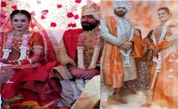 kamya punjabi and shalabh dang get married in grand ceremony