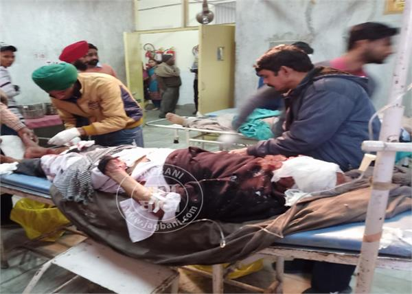 moga road accident one person death