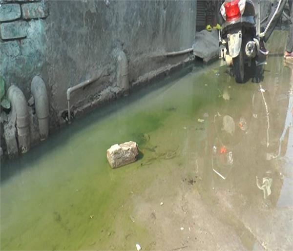 tarn taran sewerage dirty water