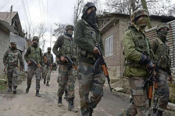 encounter in shalteng area of srinagar two terrorists killed