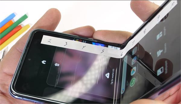 samsung galaxy z flip with foldable display fails in durability test