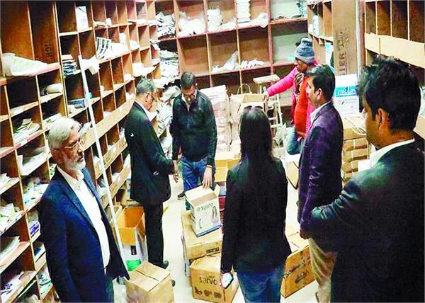 bathinda   ro  factory raid