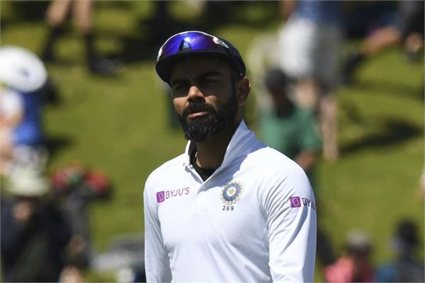 kohli s big statement after losing by 10 wickets in 1st test vs nz