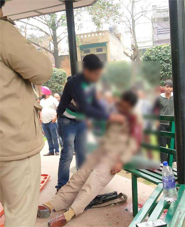 punjab polics employee suicide