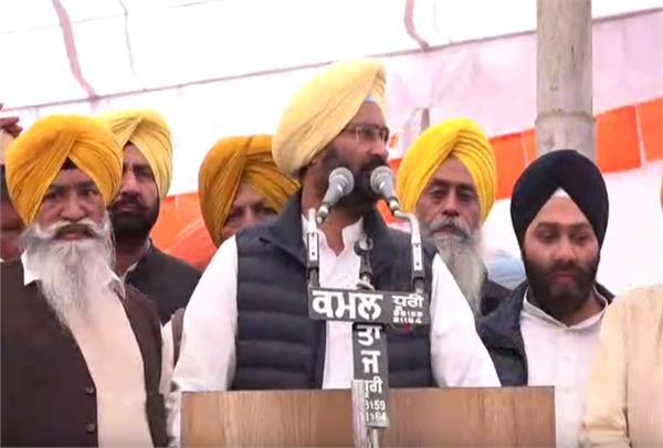 sukhbir badal parminder dhindsa rally