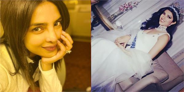 priyanka chopra shares 20 years old picture of herself when she won miss world