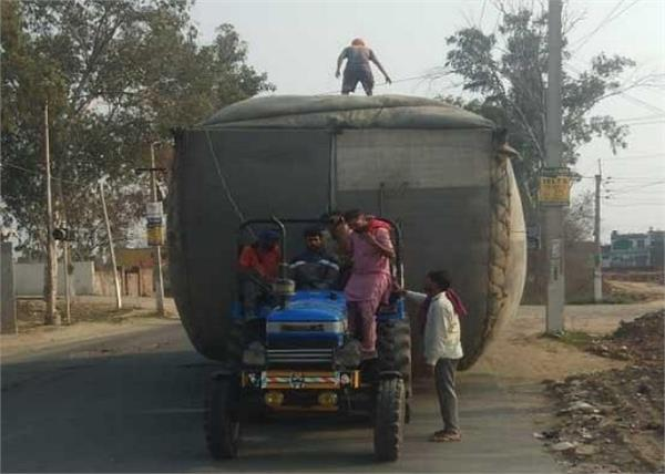 barnala traffic vehicles