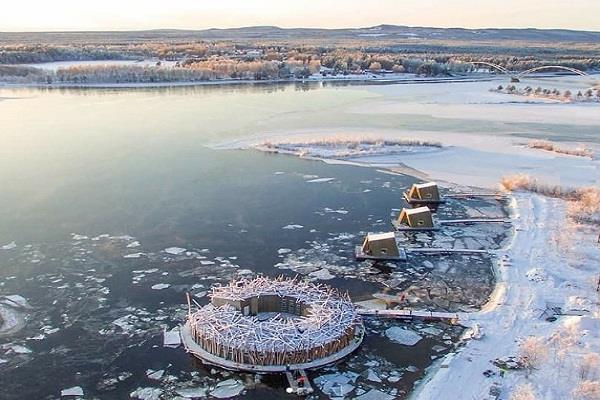 sweden floating hotel