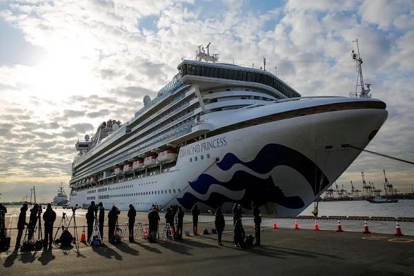 japan  diamond princess ship