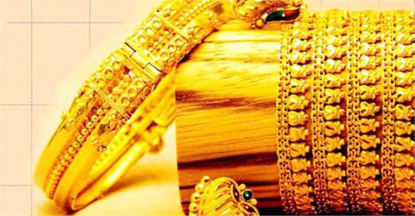 gold slipped by rs 480  weakening of silver