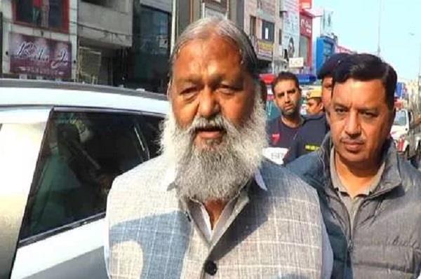 anil vij statement on delhi violence