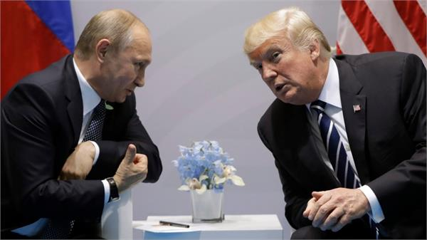 russia is intervening to bring us president donald trump back to power