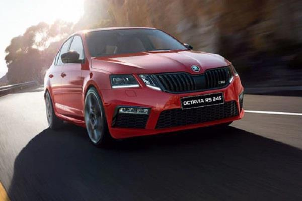 skoda octavia rs 245 launched in india