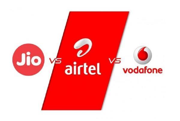 jio airtel vodafone idea plans offer 3gb data daily
