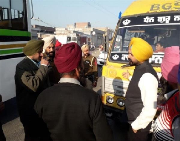 dhaliwal  school buses  checking