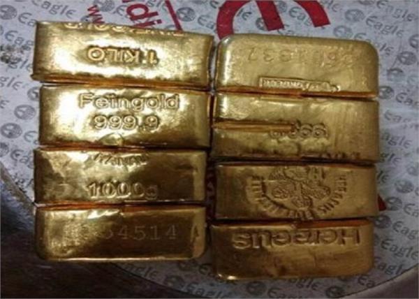 elephant dubai gold recovered smugglers arrested