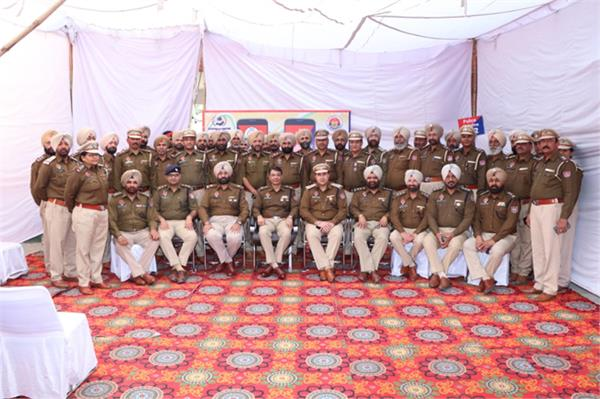 3 inspectors commissioned and 42 sub inspectors promoted