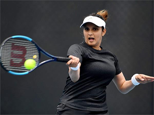 sania recovered from a rib injury