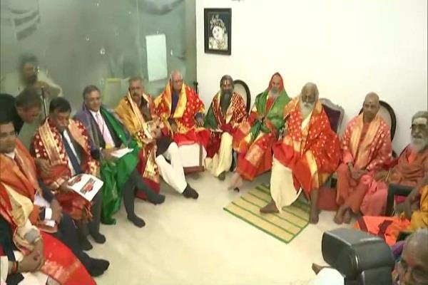 mahant nritya gopal das elected as president for ram mandir trust