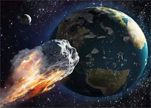 asteroid is coming to earth at a speed of 55000 km per hour
