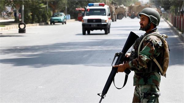 suicide camp attack kills 5 in afghanistan