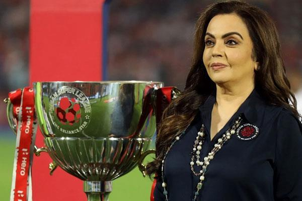 goa will host indian super league final  nita ambani