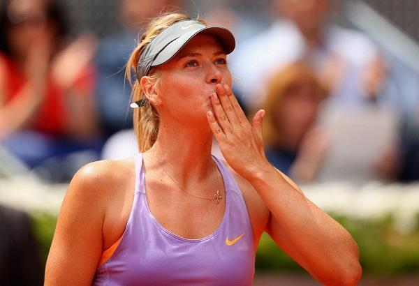 sharapova said after her retirement