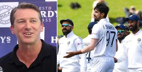 indian bowling attack still world class  mcgrath