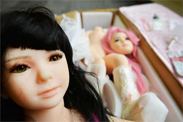 the funeral of a sex doll being performed in japan
