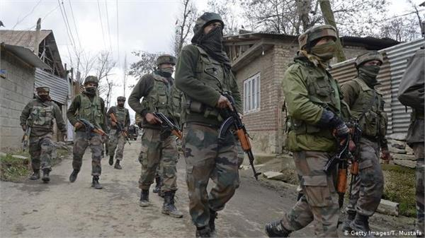 search operation launched by security forces in shopian