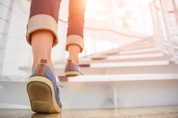 walk up stairs boosts your energy more than caffeine