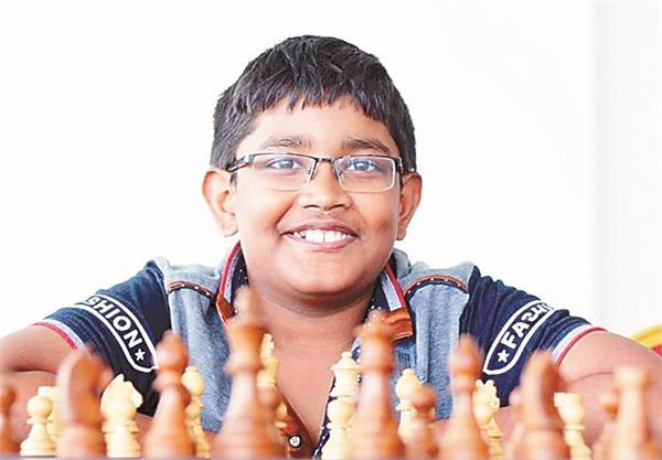 12 year old bharat subramaniam received a grandform