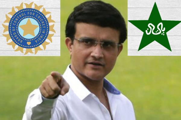 ganguly  s big statement on the match between india and pakistan