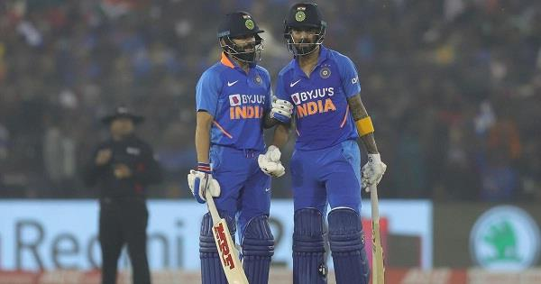 rahul t20 ranked second and kohli in ninth position