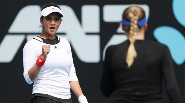 sania and garcia dubai open doubles pre quarter finals