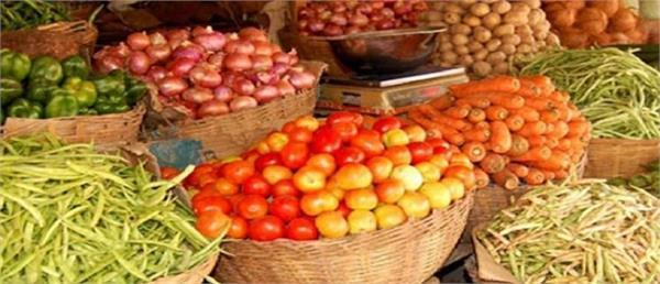 rising prices of common necessities including milk  vegetables and fruits