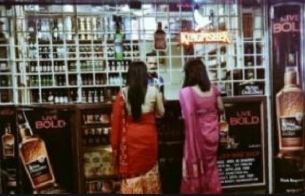 madhya pradesh  s   liquor shops for women     gandhi ji kills principles