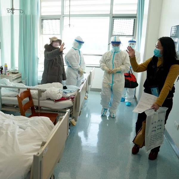 in china  14 percent of recovering people are then corona positive