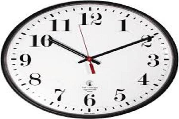 europe watch time change