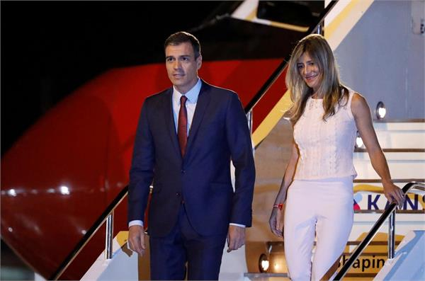 wife of spanish prime minister tested positive for coronavirus