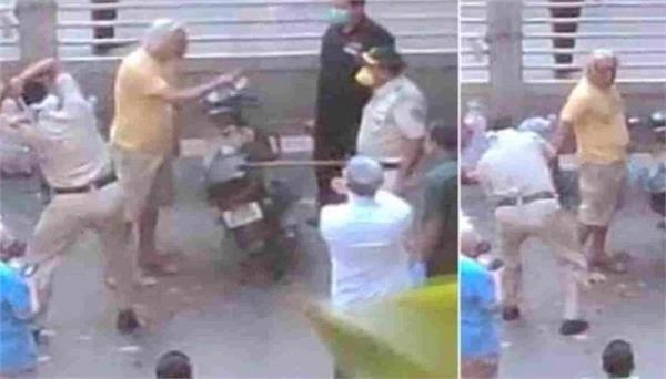 lockdown sudhir mishra fake viral video claimed beaten up
