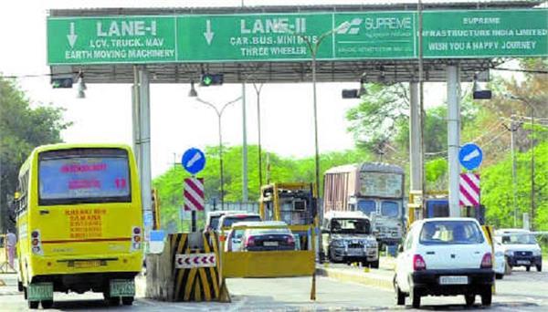 punjab toll plazas closed till lockdown
