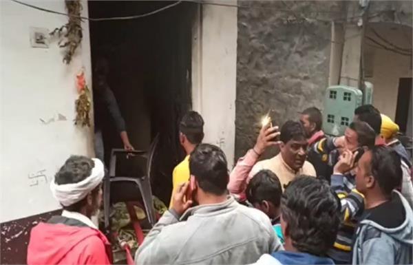sangrur fire marriage home